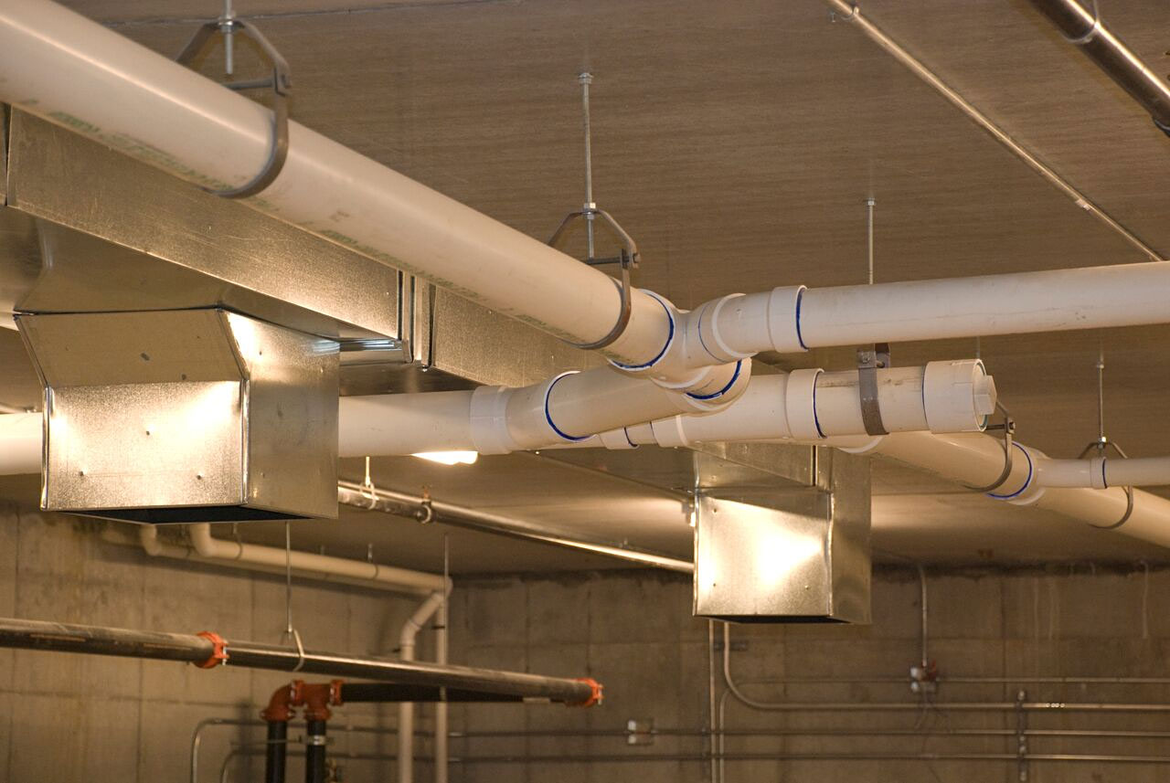 commercial plumbing and piping