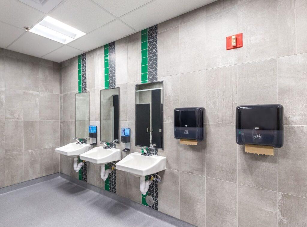 Derby High School Restroom 1 Dean E Norris Plumbing